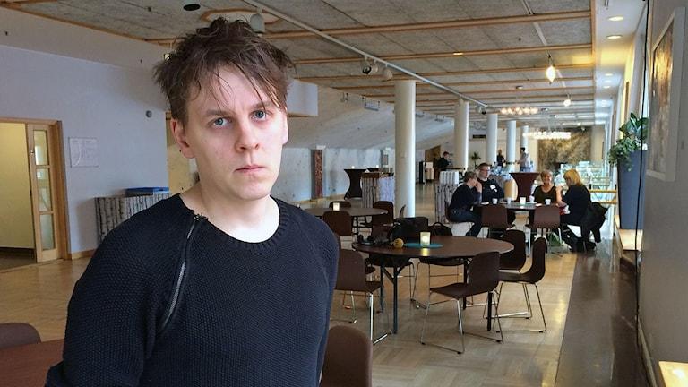 Erik Jonsson, Littfestivalens koordinator.