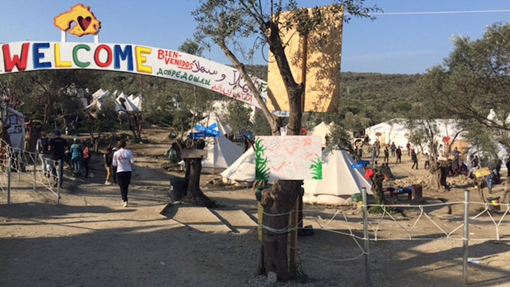 Det öppna lägret på Lesbos är nu stängt.