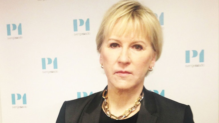 Margot Wallström, utrikesminister
