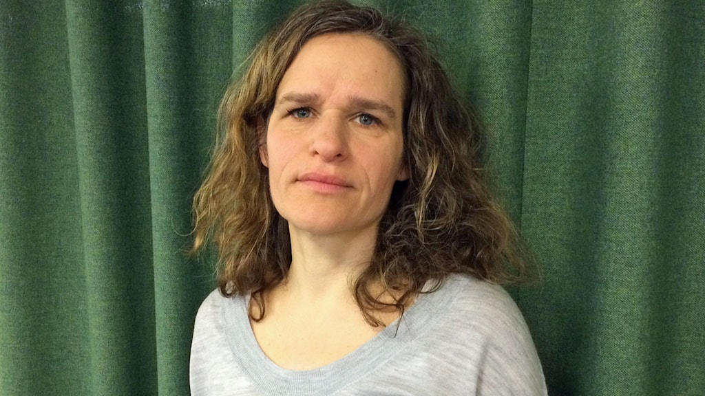 Ekots reporter Katarina Helmerson.
