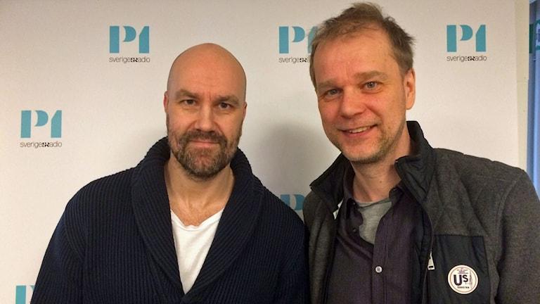 Claes Aronsson och Kristian Åström