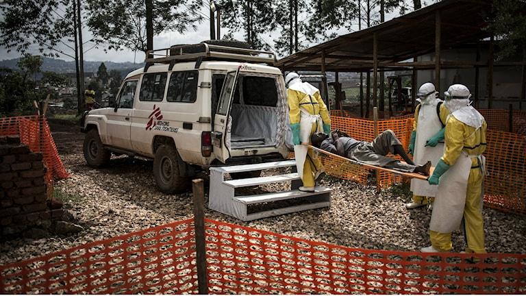 Foto: John Wessels/Läkare utan gränser