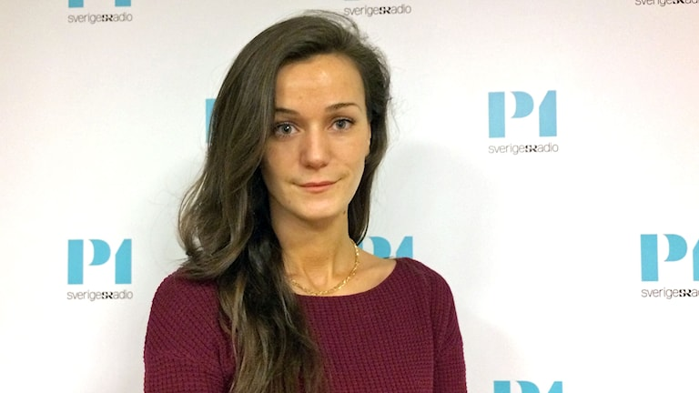 Amela Mahovic, journalist på Sveriges Television.