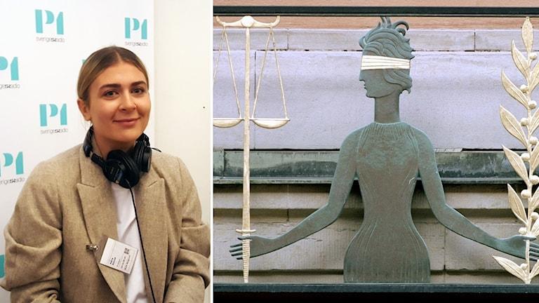 Adina Schildt, jurist vid Institutet för Juridik och Internet.