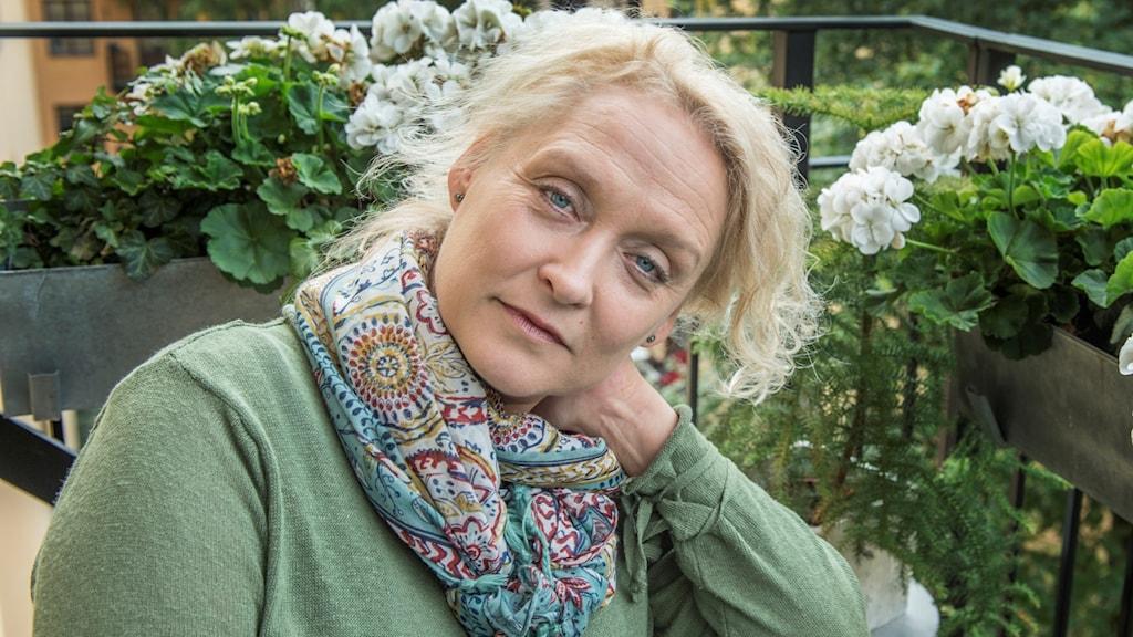 Författaren Karin Alvtegen.