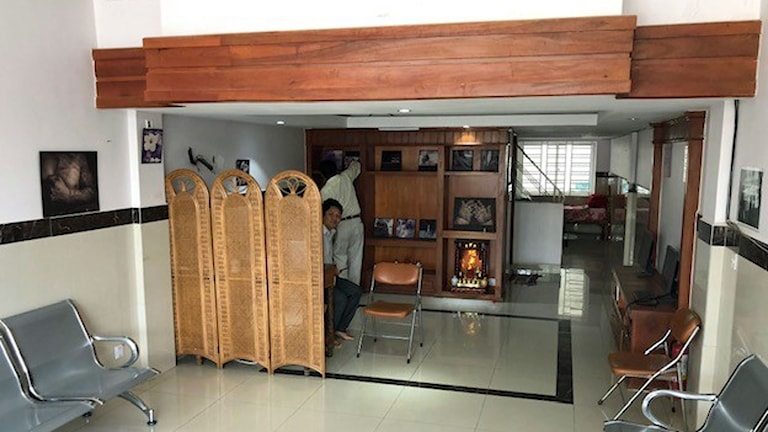 Khmer Vulnerbility Aid Organizations kontor i Phnom Penh