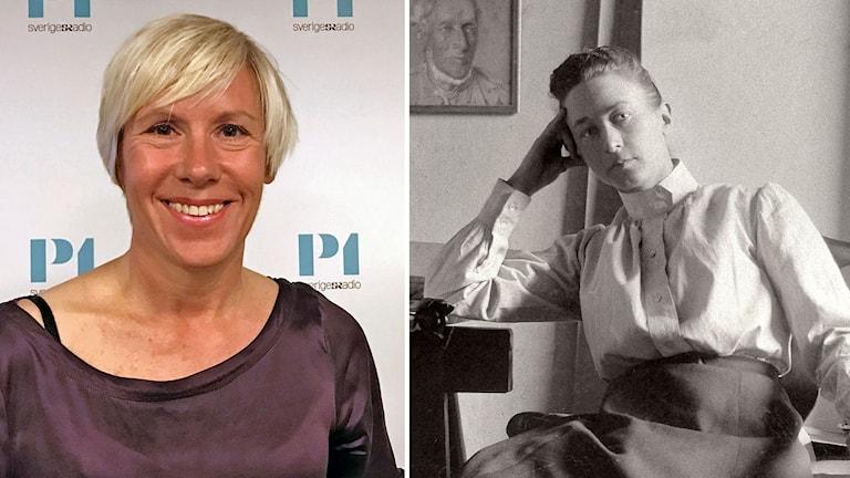 Anna Laestadius Larsson har skrivit en bok om Hilma af Klint.