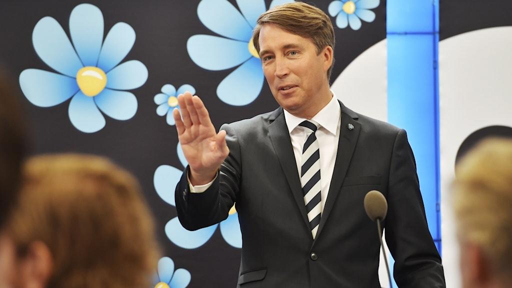 Richard Jomshof, partisekreterare