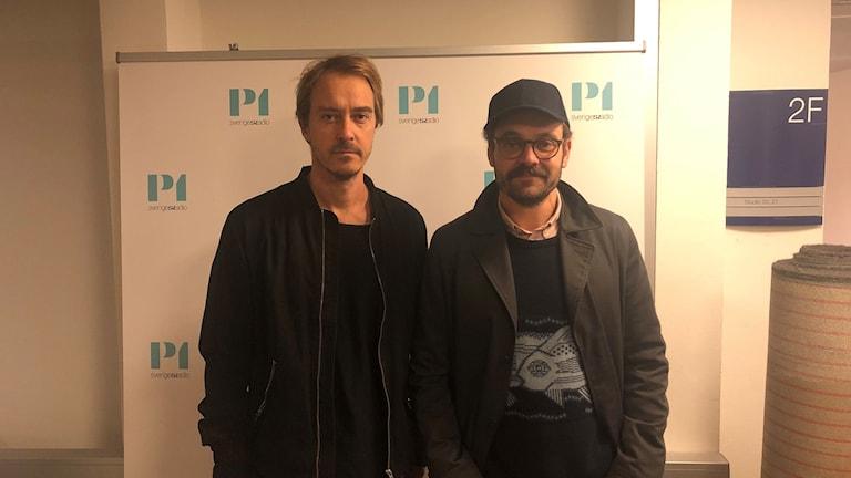 David Dencik och Jonas Karlsson.
