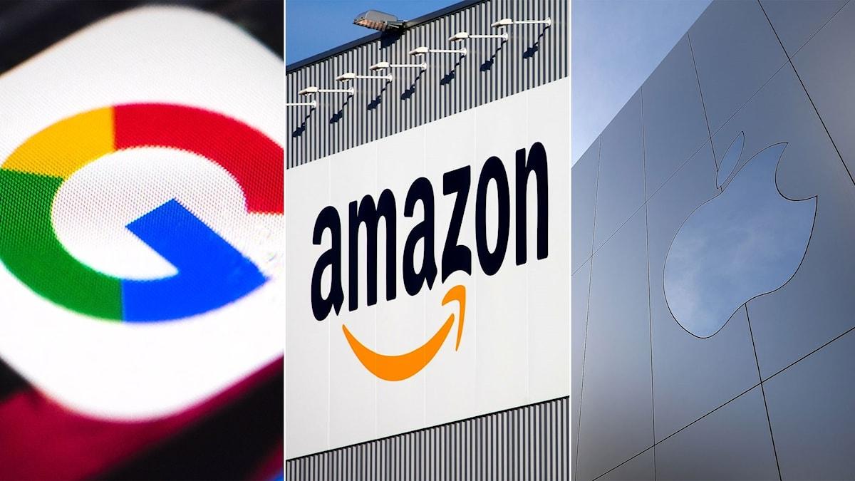 Google, Amazon och Apple