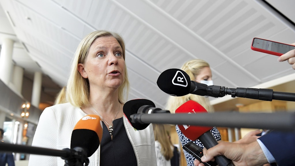 Magdalena Andersson.