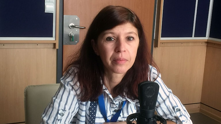 Silvia Velikova känner sig som Bulgariens friaste radioreporter.