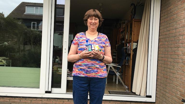 Jag vill leva tills jag blir 100 år, säger 61-åriga Anneke de Swart i Nederländska Voorshoten några kilometer från Haag, med typ 2 diabetes och svår astma.