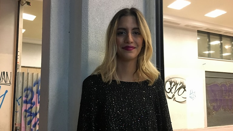 Marina Manzoli funderar på att flytta utomlands. I Grekland är det svårt att hitta ett jobb, säger hon.