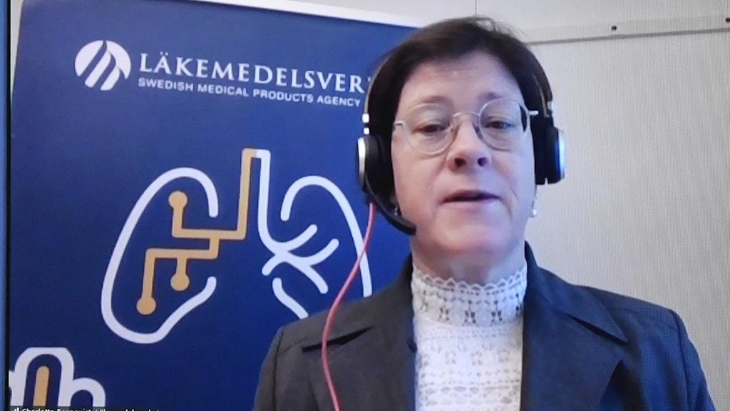 Charlotta Bergquist, vaccinkoordinator på Läkemedelsverket.