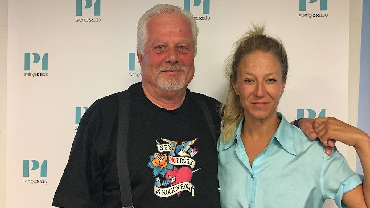 Mette Aakerholm Gardell och Thomas Björck