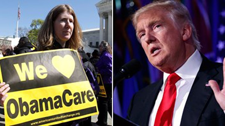 Obamacare och Donald Trump