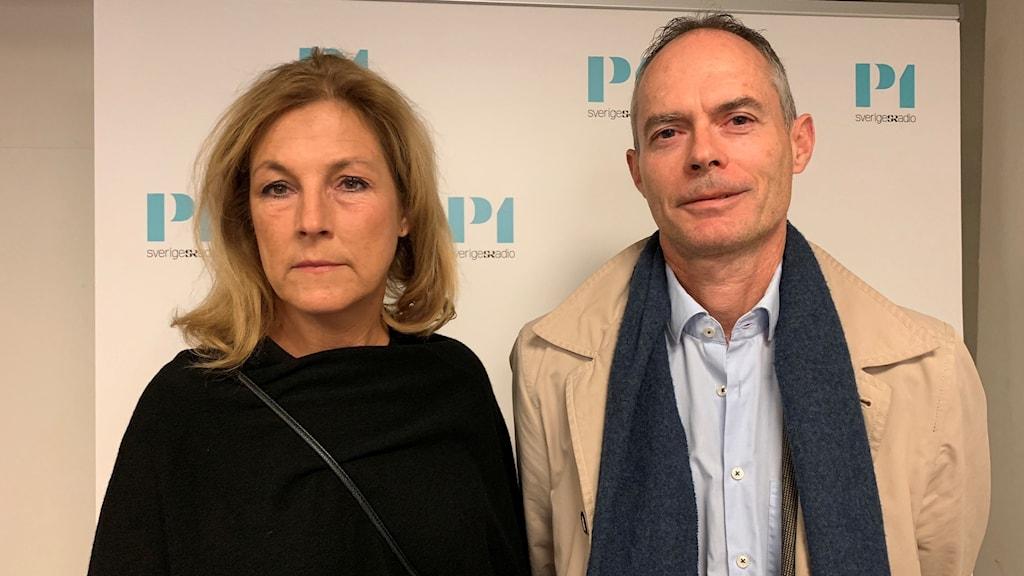 Anders Lind och Sanna.