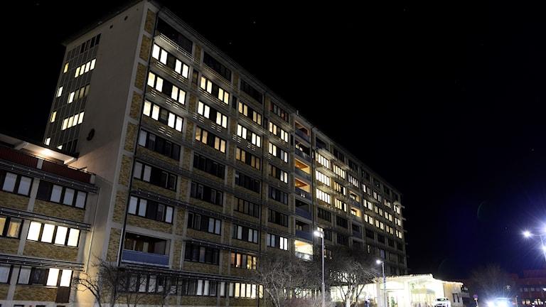 Sjukhuset i Sollefteå.
