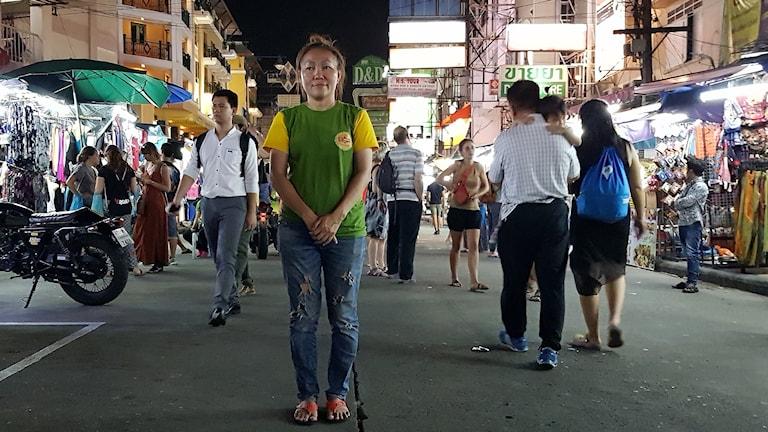 Yada, leder gatuhandlarnas organisation.
