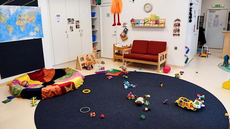 Leksaker på förskola