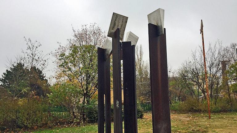 Skulpturpark i Dunaujvaros.