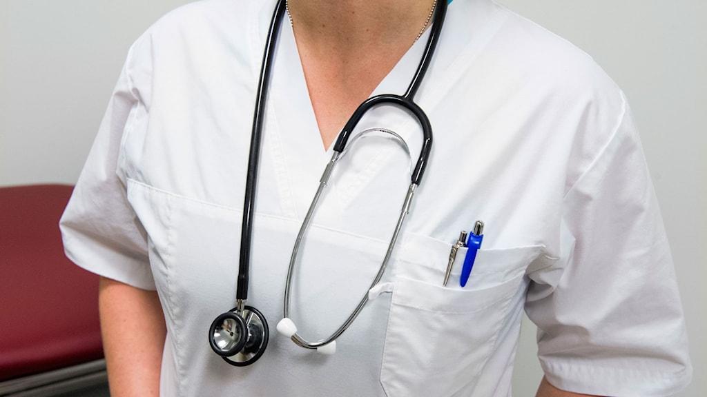 Sjuksköterska.
