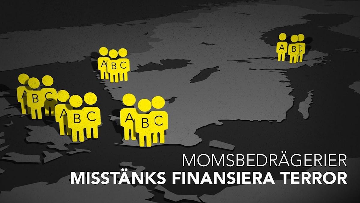Både den svenska och den danska staten har lurats på stora summor av personer inom våldsbejakande islamism