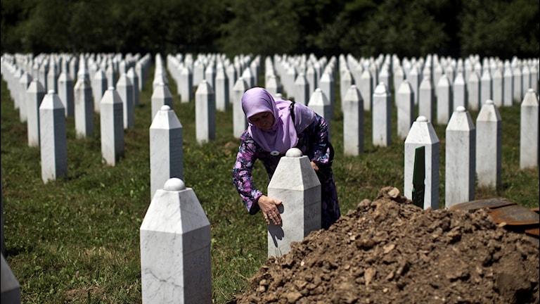 Srebrenica minnesmål.