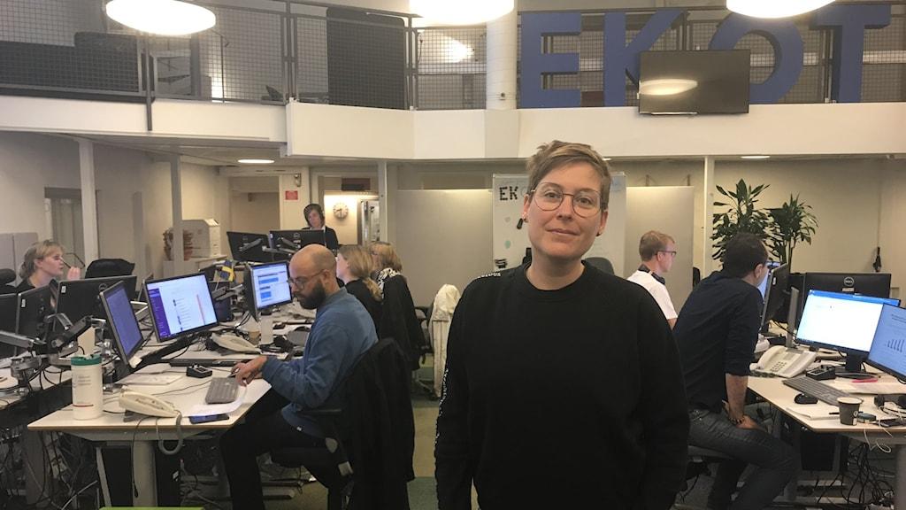 Kalle Röcklinger är sakkunnig i sexualupplysning på RFSU.
