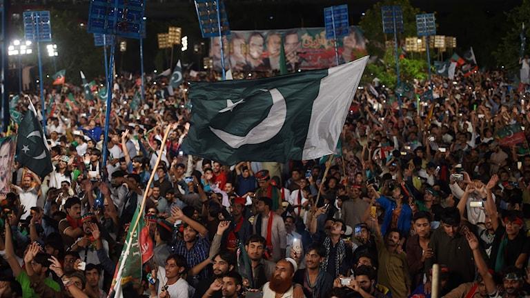 Firande i Pakistan av 70 år av självständighet.