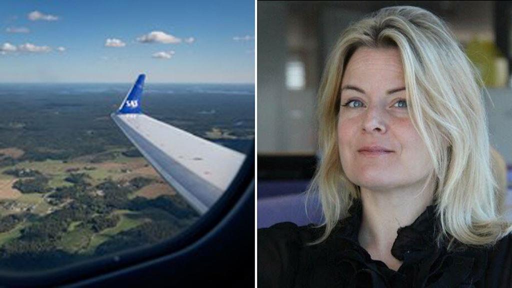 Freja Annamatz, presschef på SAS.