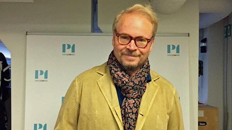 Fredrik Lindström gästade P1-morgon.