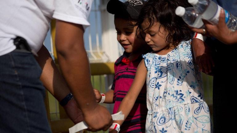 Barn i Guatemala