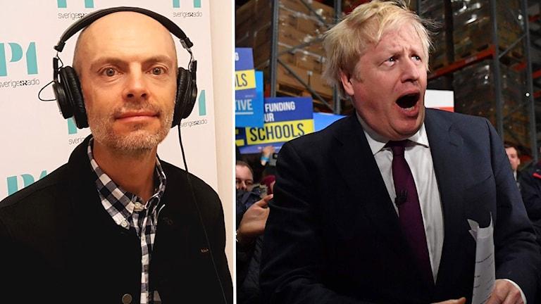 Nicholas-Aylott och Boris Johnson.