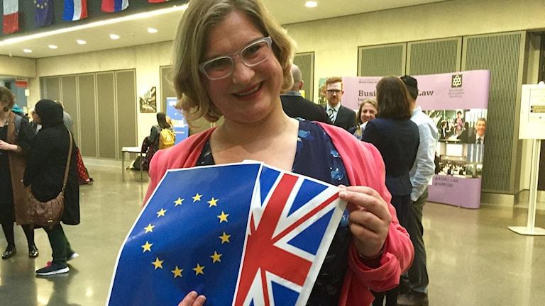 Millicent Scott från Democratic Society hoppas på mer internationellt samarbete och röstar för att Storbritannien stannar kvar i EU.