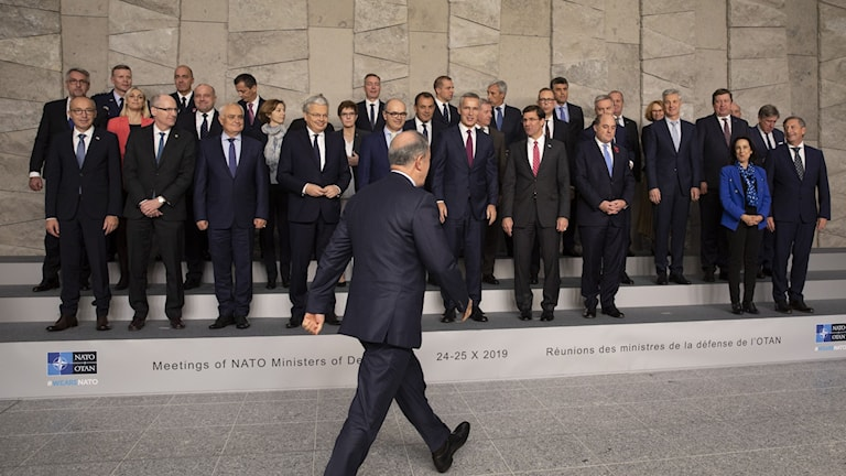 APTOPIX Belgium NATO Turkey