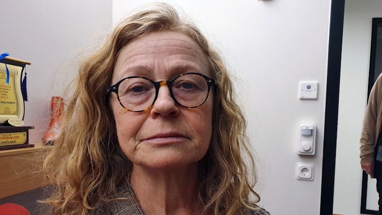 Maria Engström är narkossjuksköterska vid anestesi och intensivvårdskliniken på Örebro universitetssjukhus,  där man märker av problematiken med brist på mediciner.
