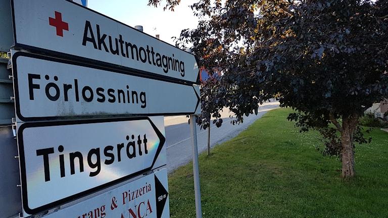 Akuten i Hudiksvall har sedan 1 maj 2017 ordningsvakter på helgkvällar.
