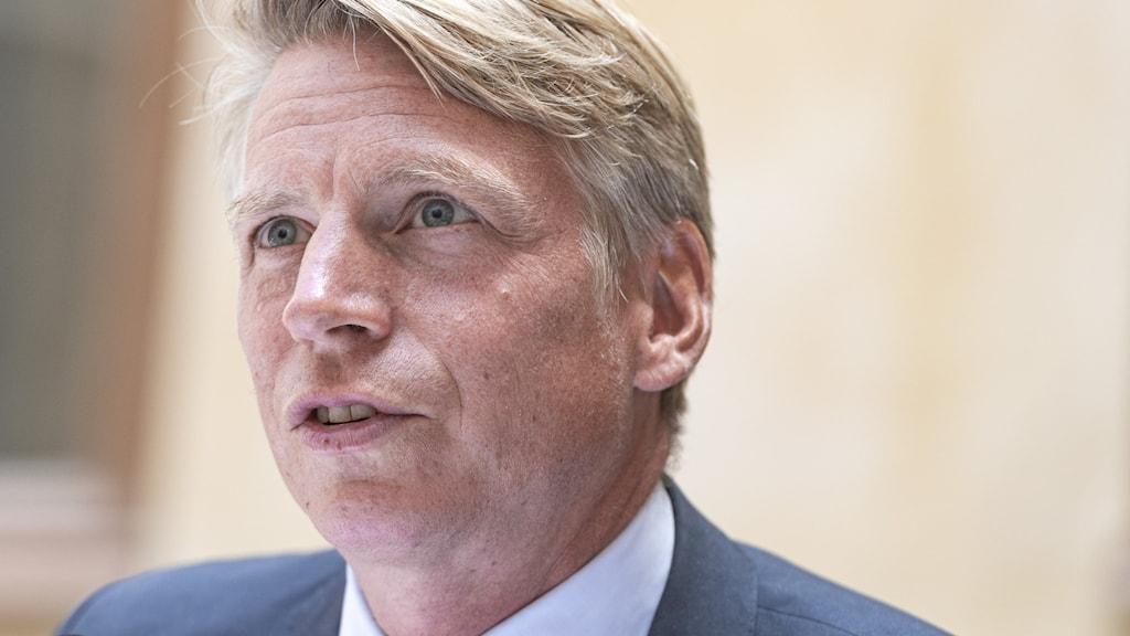 Bild på MP-språkröret Per Bolund.