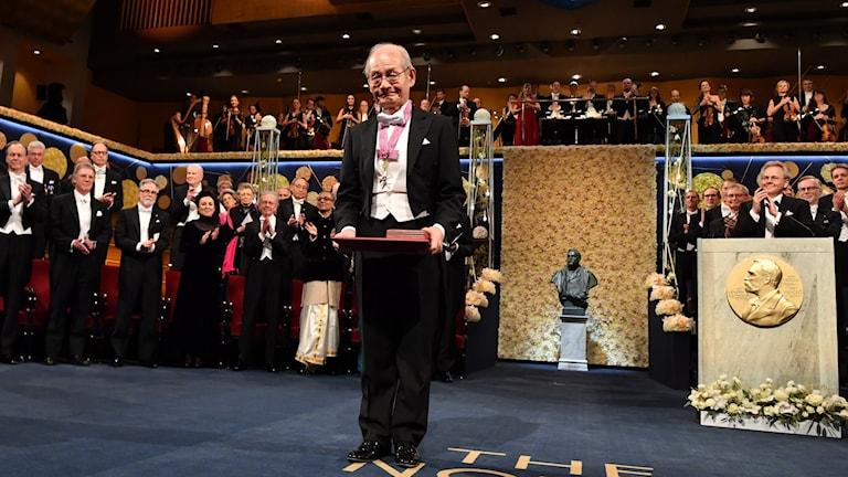 Förra året tilldelades bland annat Akira Yoshino från Japan Nobelpriset i kemi.