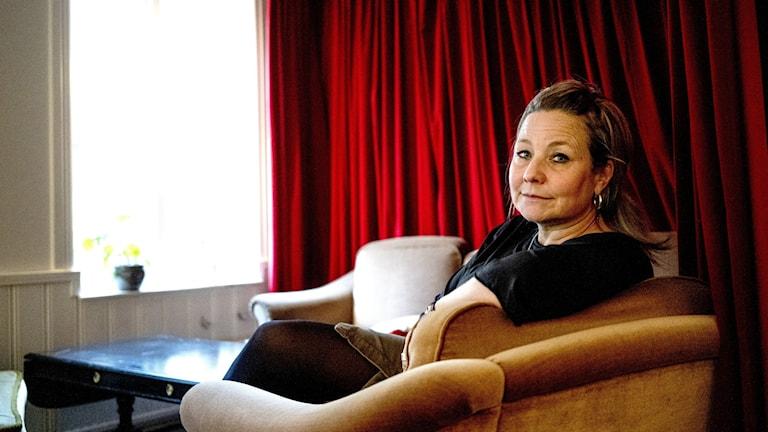 Matilda Brinck-Larsen, verksamhetsansvarig på frivilligorganisationen Agape som stöttar ensamkommande.