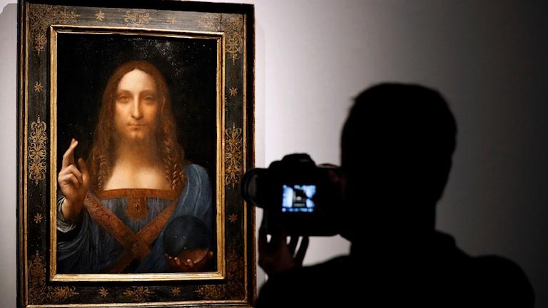 Det här tavlan av Da Vinci säljs nu.