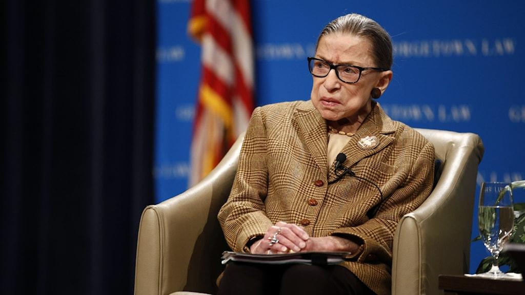 Ruth Bader Ginsburg blev 87 år gammal.
