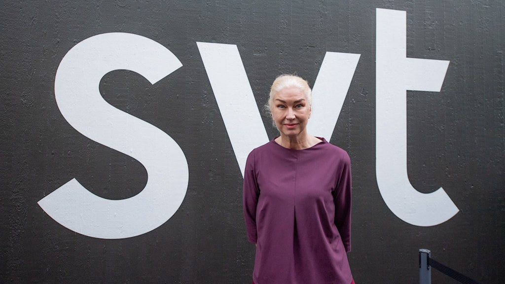 Eva Beckman, programdirektör på SVT.