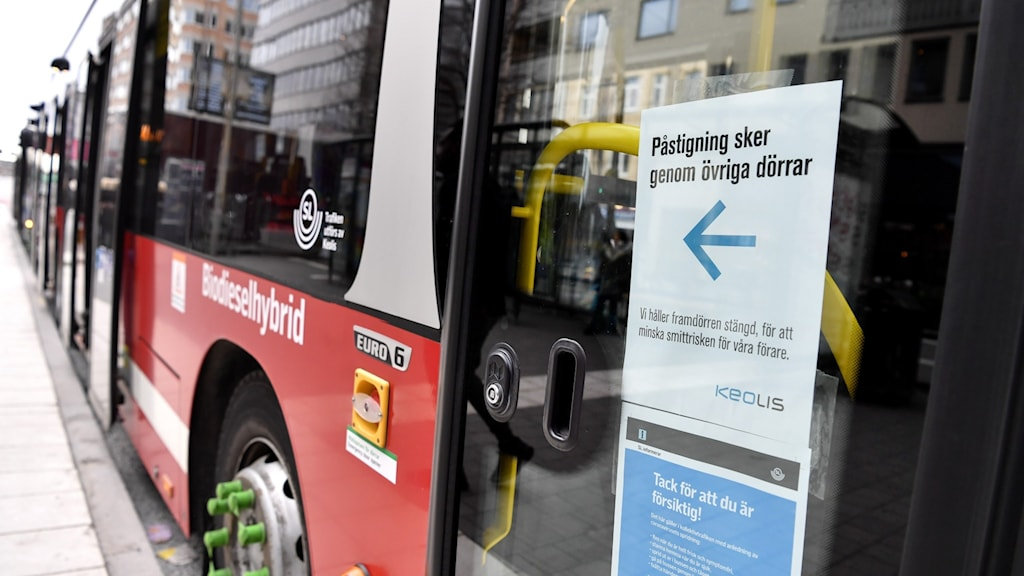 En buss från Stockholms lokaltrafik