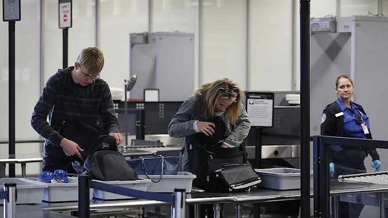 Flygplatsbild USA