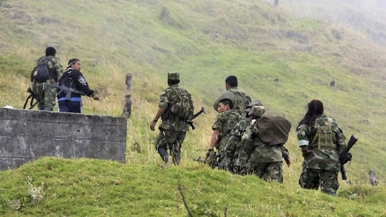 Tidigare FARC-soldater.