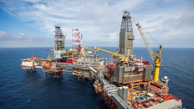 Norskt oljefält
