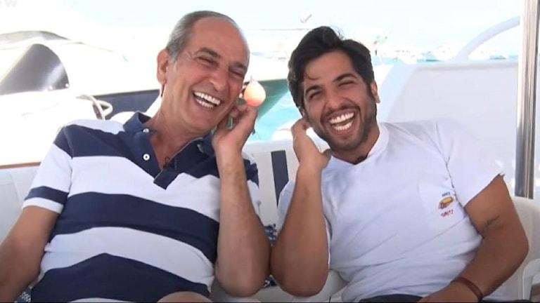 Man och hans son